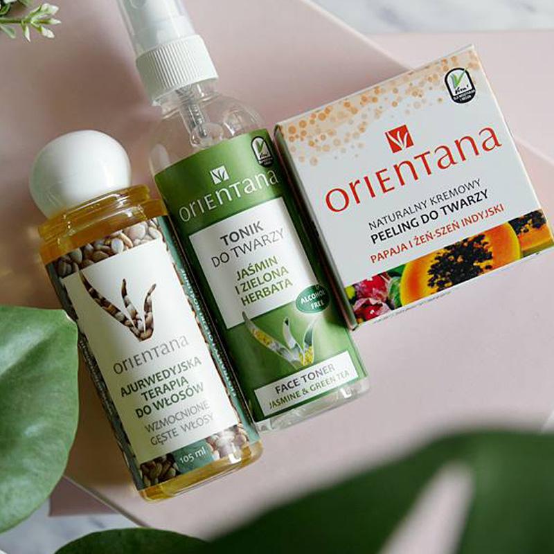 Pielęgnacja z Orientaną: top 3 produkty do włosów, twarzy i ciała