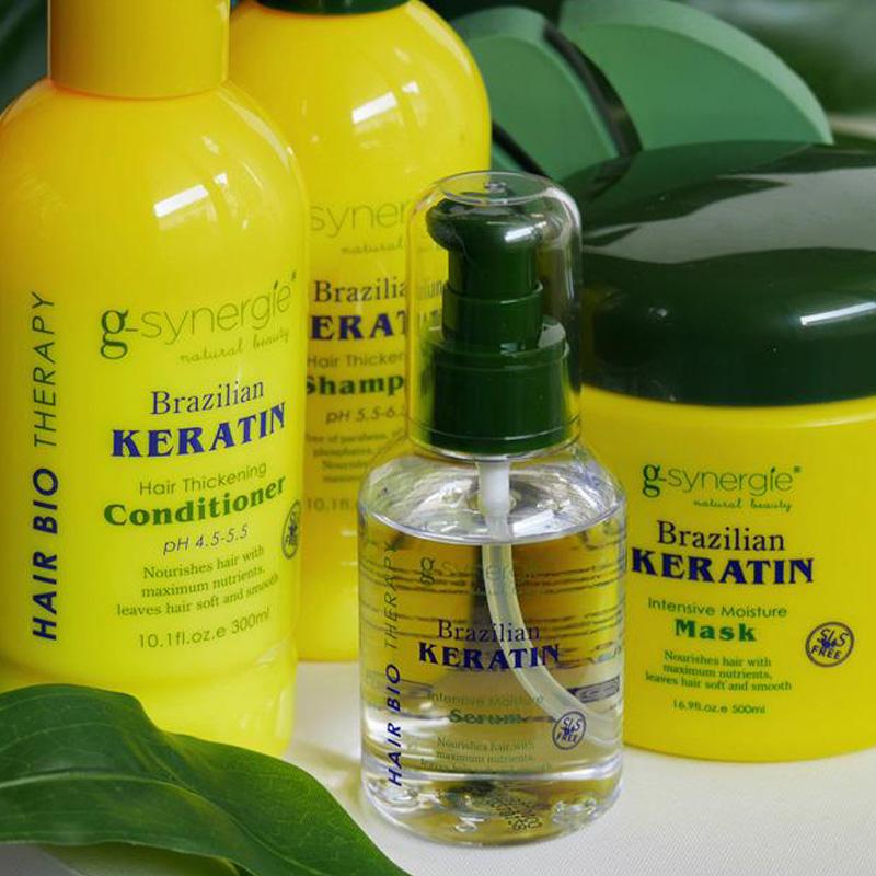 NOWOŚĆ: brazylijska keratyna G-Synergie – niczym profesjonalny zabieg na włosy